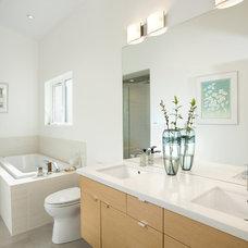 Modern Bathroom by Klondike Contracting