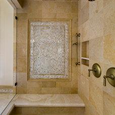 Traditional Bathroom by Markay Johnson Construction