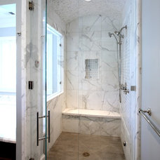 traditional bathroom by Markay Johnson Construction