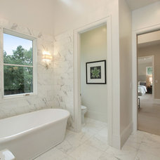 Transitional Bathroom by Clarum Homes