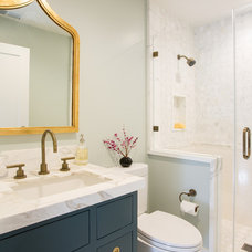 Transitional Bathroom by Fiorella Design
