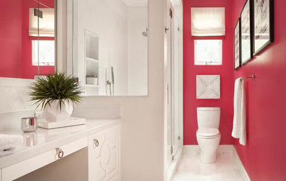 15 Bathrooms That Wow With Vivid Color