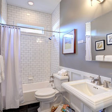 Traditional Bathroom by Carl Mattison Design