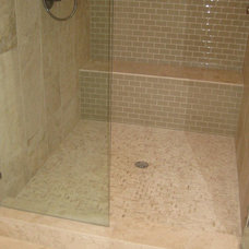 Traditional Bathroom by Traditions in Tile