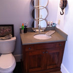 Catamount Ranch Traditional Bathroom Denver By