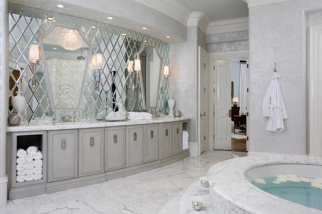 Contemporary Bathroom by Habachy Designs