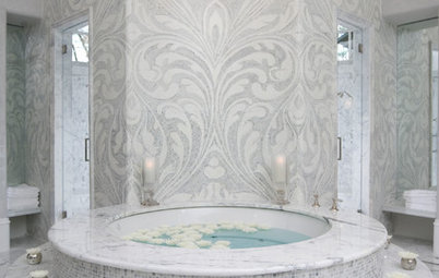 Polish Your Bathroom's Look With Wrapped Tile
