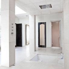 Mediterranean Bathroom by Tamara Bickley Design