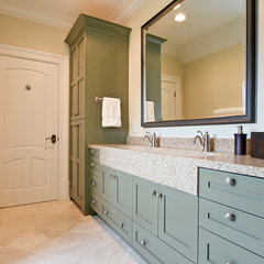 bathroom by Fowler Interiors