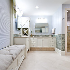 Modern Bathroom by Fowler Interiors
