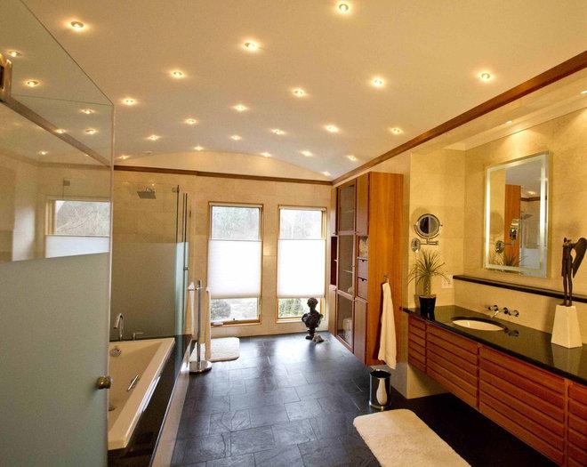 Modern Bathroom by Daniel M Martin, Architect LLC