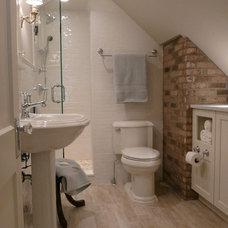 Traditional Bathroom Attic Bath