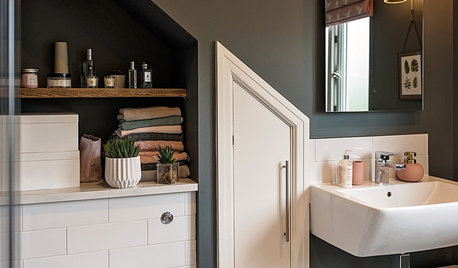 Beautifully Designed Open Storage Ideas for Bathrooms