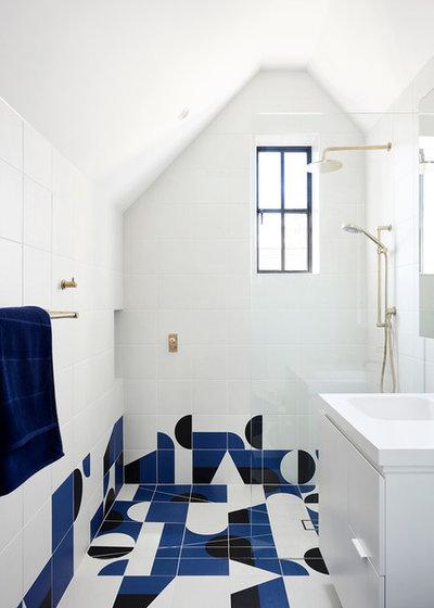 Scandinavian Bathroom by Windust Architecture x Interiors