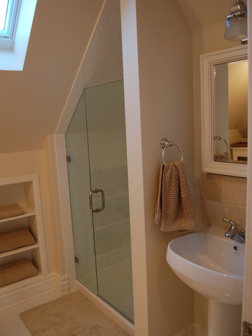 best attic shower design ideas remodel pictures houzz