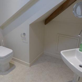 attic room en-suite shower room