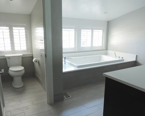Birmingham Bathroom Design Ideas Renovations Photos With A Vessel Sink