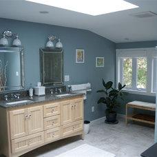 Contemporary Bathroom by Attleboro Kitchen and Bath