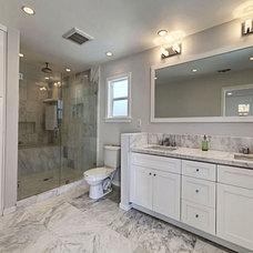 Contemporary Bathroom by Digs Los Angeles