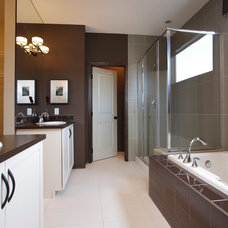 modern bathroom by Cardel Designs