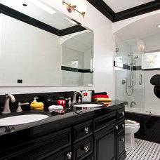 Contemporary Bathroom by Jay Andre Construction, Inc.