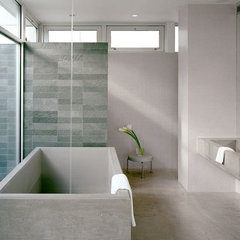 modern bathroom by Audrey Matlock Architects