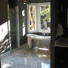 Traditional Bathroom by Martini Tile, LLC