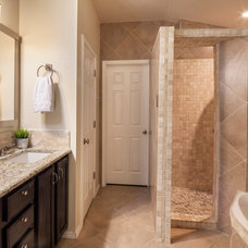 Traditional Bathroom by Luxe Life Decor