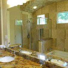 Modern Bathroom by Rob Sanders Designer - Custom Home/Remodel Design
