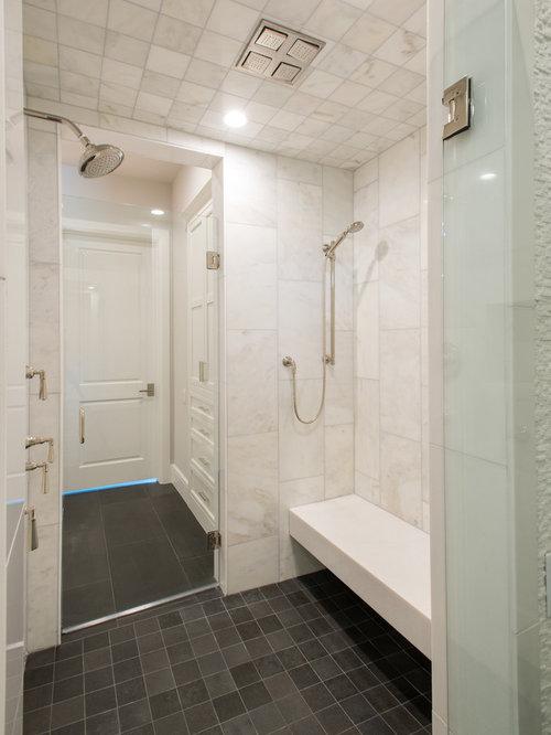 Contemporary Bathroom Design Ideas Renovations Photos With Grey Walls