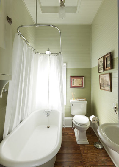 Victorian Bathroom by VOH Architects