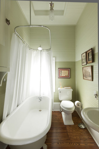 Traditional Bathroom by Volz O'Connell Hutson