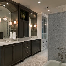Contemporary Bathroom by Bravo Interior Design