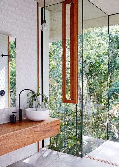 Contemporary Bathroom by Australian Interior Design Awards
