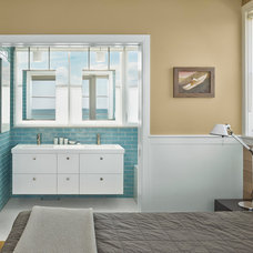 Beach Style Bathroom by McCoubrey/Overholser, Inc.