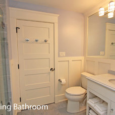 Beach Style Bathroom by Winfield Developers