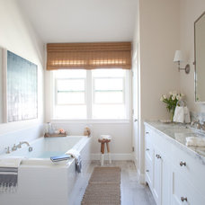 Farmhouse Bathroom by Kate Lester Interiors