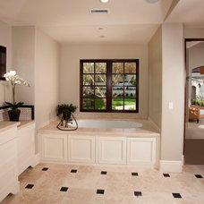 Mediterranean Bathroom by Patterson Custom Homes