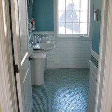 Traditional Bathroom by Degnan Design Group + Degnan Design Build