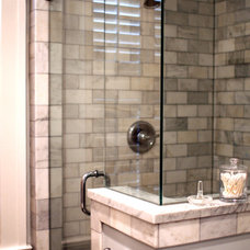 Traditional Bathroom by Soucki Designs LLC