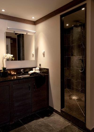 Stunning Rustic Bathroom by Nicola O uMara Interior Design
