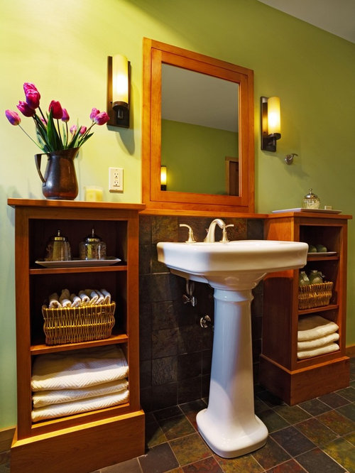 Pedestal Sink Cabinets Ideas Pictures Remodel And Decor
