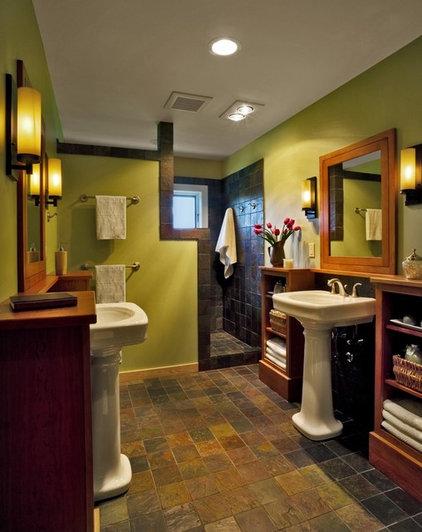 Contemporary Bathroom by Peregrine Design Build
