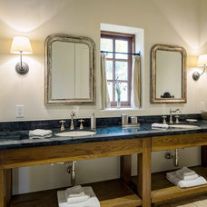 Rustic Bathroom by Design Visions of Austin