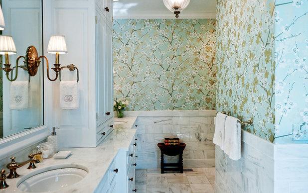 Traditional Bathroom by Leland Interiors, LLC