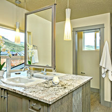 Contemporary Bathroom by Boise Hunter Homes