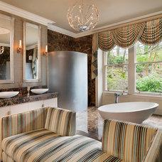 Traditional Bathroom by Jamie Hempsall Ltd
