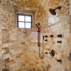 mediterranean bathroom by Godden Sudik Architects Inc