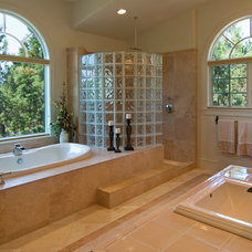 Traditional Bathroom by Scott Gilbride/Architect Inc.
