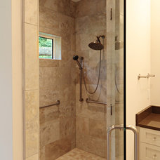 Traditional Bathroom by Suiter Construction Company, Inc.